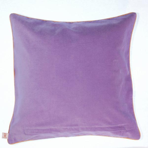 Polish Special Throw Pillow Roses - Velvet back