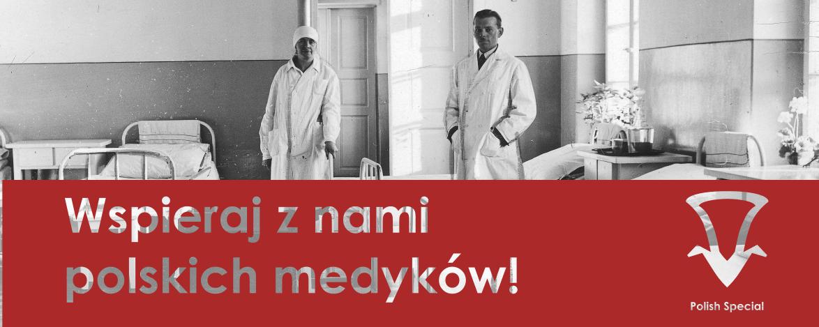 Polish Special wspiera polskie szpitale w walce z koronawirusem. 10% sprzedaży przekazujemy polskim szpitalom.